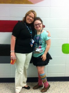 Ms. Cox has been Rachel's resource teacher for the past two years.  We will miss her in 8th grade.