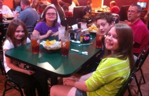 A little Mexican fiesta with our Memphis buddies.