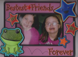 Sarah gave this frame to Rachel a couple of years ago.