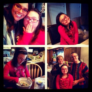 This was Bethany Day Christmas 2012.  They made some cookies for the parents.