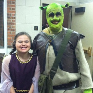 shrek and rachel