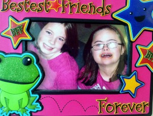Going away party when we moved from Memphis. Sarah is still a good friend to Rachel. She sent this picture and frame to Rachel.
