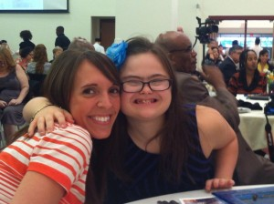 Ms. Stefanie *& Rachel at Mayor's Awards program