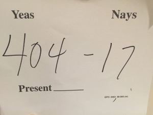 yoder able official tally