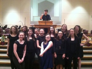gf beautiful choir