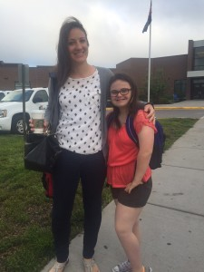 Last day with Ms. Feightner, Social Worker
