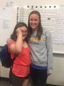 Last day with Ms. Rooney. Volleyball coach and Sophomore Case Manager