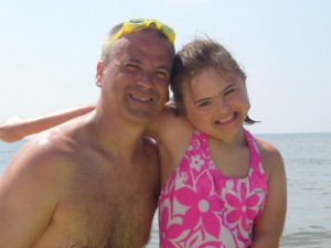 A girl and the best daddy in the world