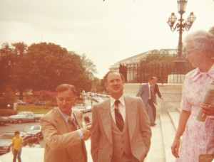 AR Congressman John Paul Hammerschmidt and and Congressman Ray Thornton, United States Capitol 1978